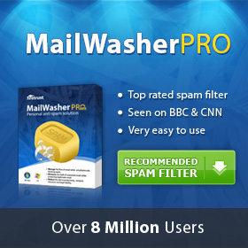 MailWasher PRO Recommended Spam Filter